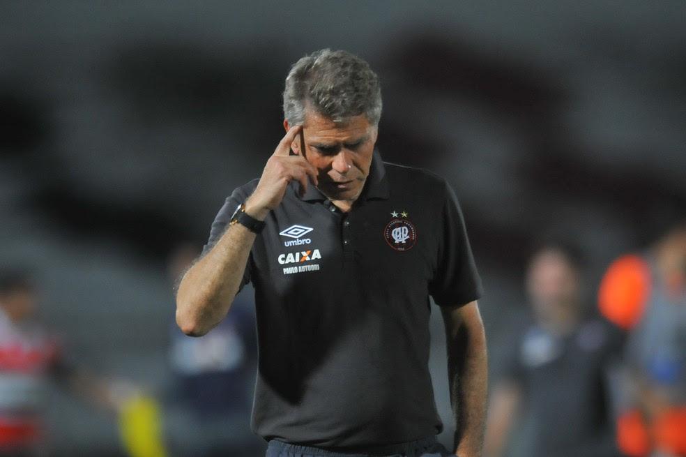 Paulo Autuori, após goleada do Atlético-PR por 6 a 2 para o Bahia: