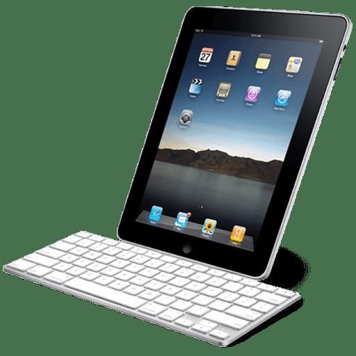 iPad with keyboard Icon   iPad Iconset   John Freeborn
