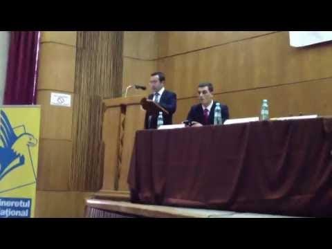 VIDEO Discursul lui Mihai Moraru la alegerile TNL. O fi fost scris de Băişanu?