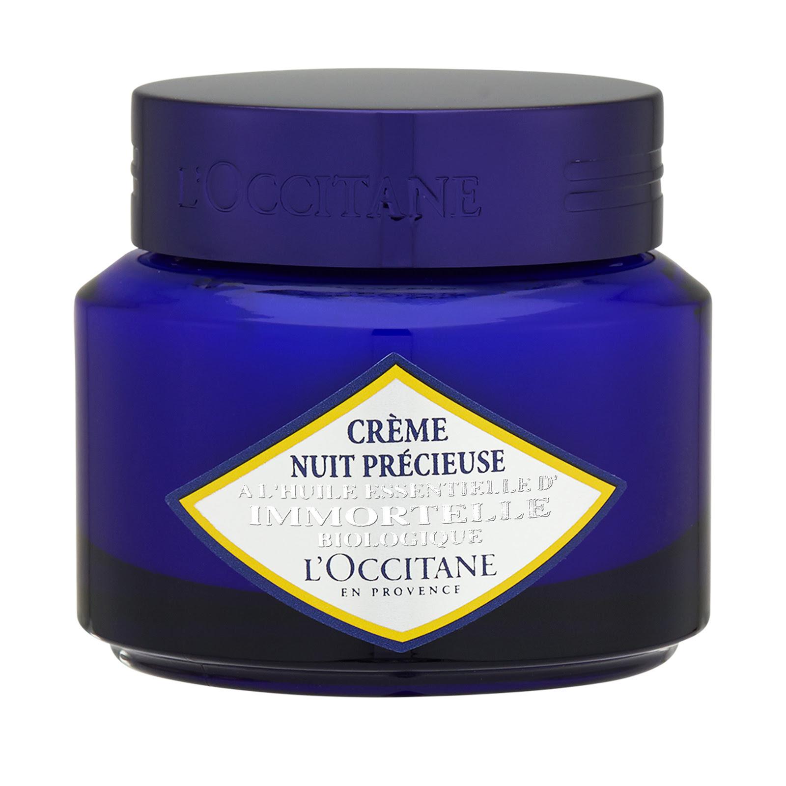 L'Occitane Immortelle Biologique Precious Night Cream