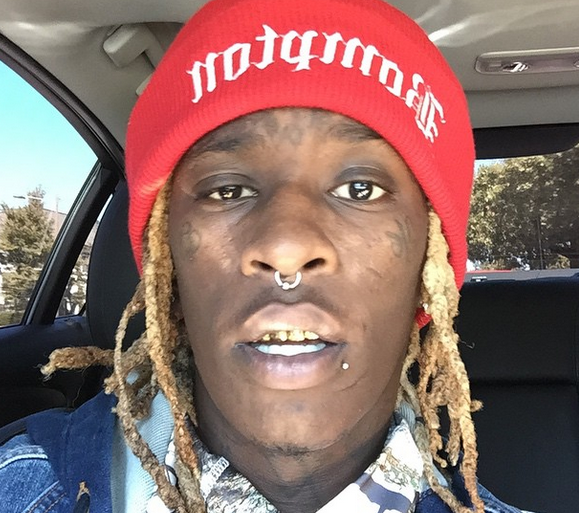 Young Thug Gets An Ice Cream Cone Tattoo On Face In Honor Of Gucci