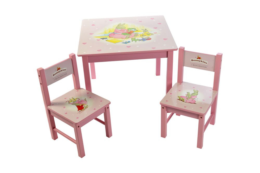 Children Wooden Pencil Shape Chair and Stool Colourful ...