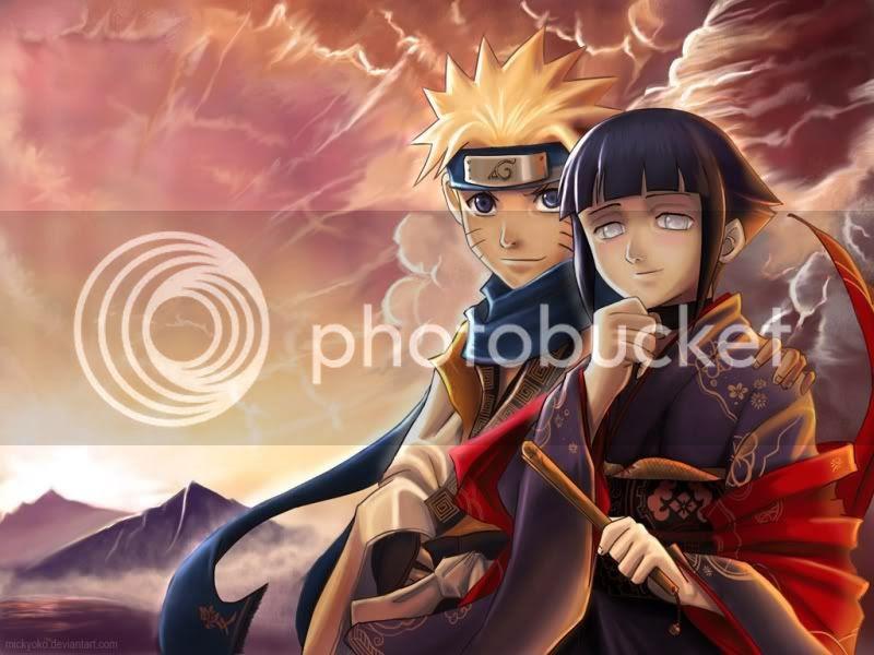 Naruto and Hinata photo