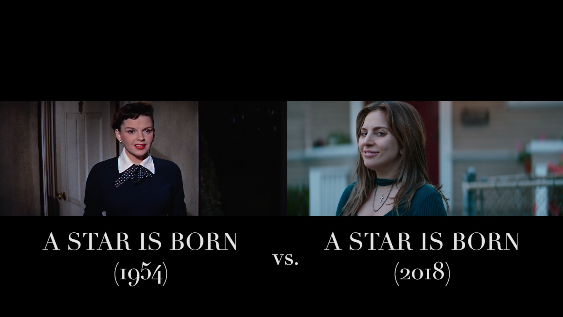 Watch A Star Is Born Judy Garland Vs Lady Gaga