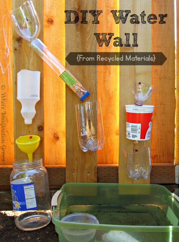 DIY Water Wall for Kids! Fun Water Play for Summer!