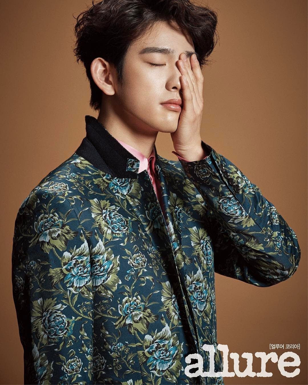 Jinyoung (GOT7) - Allure Magazine February Issue '17