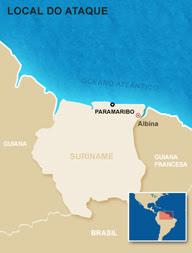 Avião da FAB repatria brasileiros do Suriname