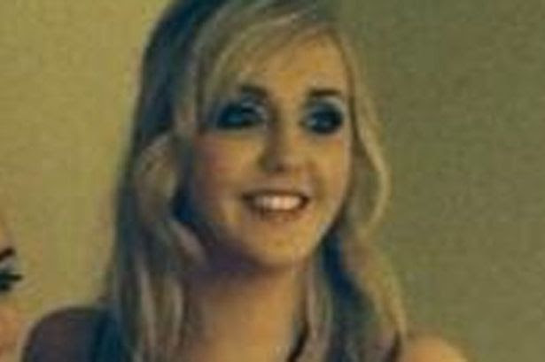 Niamh O'Connor, 20, from Glanmire, Co Cork