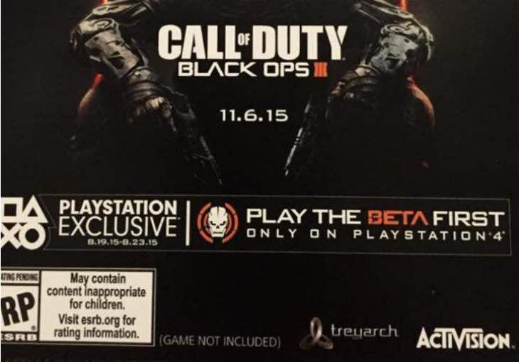 Black Ops 3 Beta Code Invalid Claims Increase Product