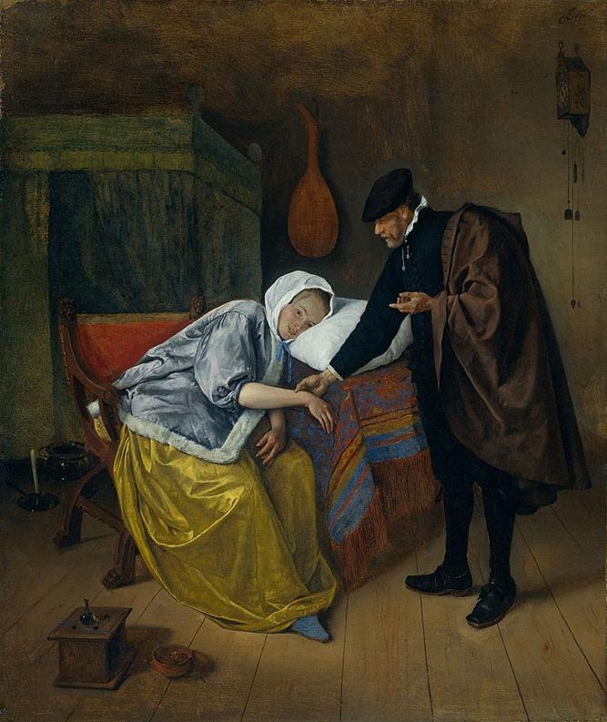 https://upload.wikimedia.org/wikipedia/commons/thumb/8/81/Steen_Doctor_and_His_Patient.jpg/861px-Steen_Doctor_and_His_Patient.jpg