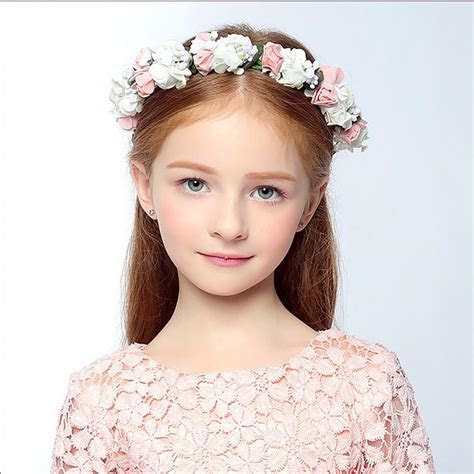 1 PCS Wedding Headwear Bohemia Flower Hairband Children