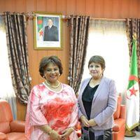 وزيرة التربية الوطنية تستقبل وزيرة الثقافة الأنغولية