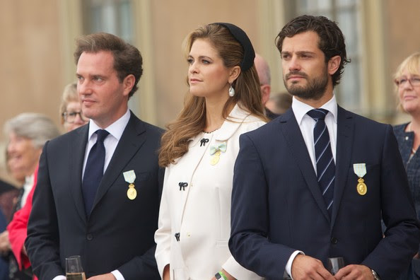 Prince Carl Philip - King Carl Gustaf's 40th Jubilee - City Of Stockholm Celebrations