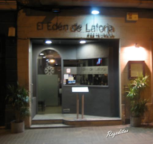 CENA EN RESTAURANTE EL EDEN DE LAFORJA