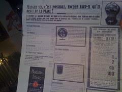 "Restaurant ""Le Comptoir de Madame Tomate"""
