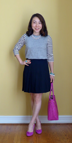 striped sleeves