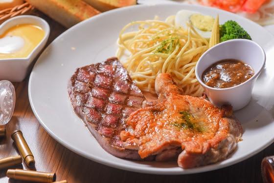 牛仔/部落/火烤/厚切/牛排/烤肉/燒烤/吃到飽