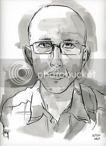 selfportrait by jeremy talbot