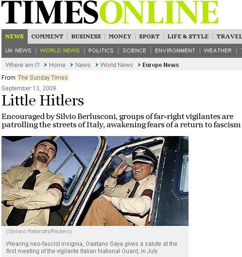 Timesonline Notizie Canaglia