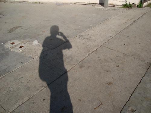 Shadow of Me Walking