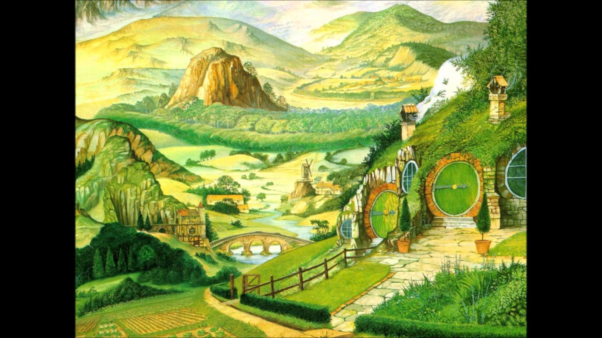 The Hobbit The Shire Wallpaper 69 Images