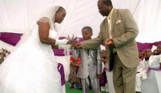 Boy Marries Woman Old Enough to Be His Grandmother