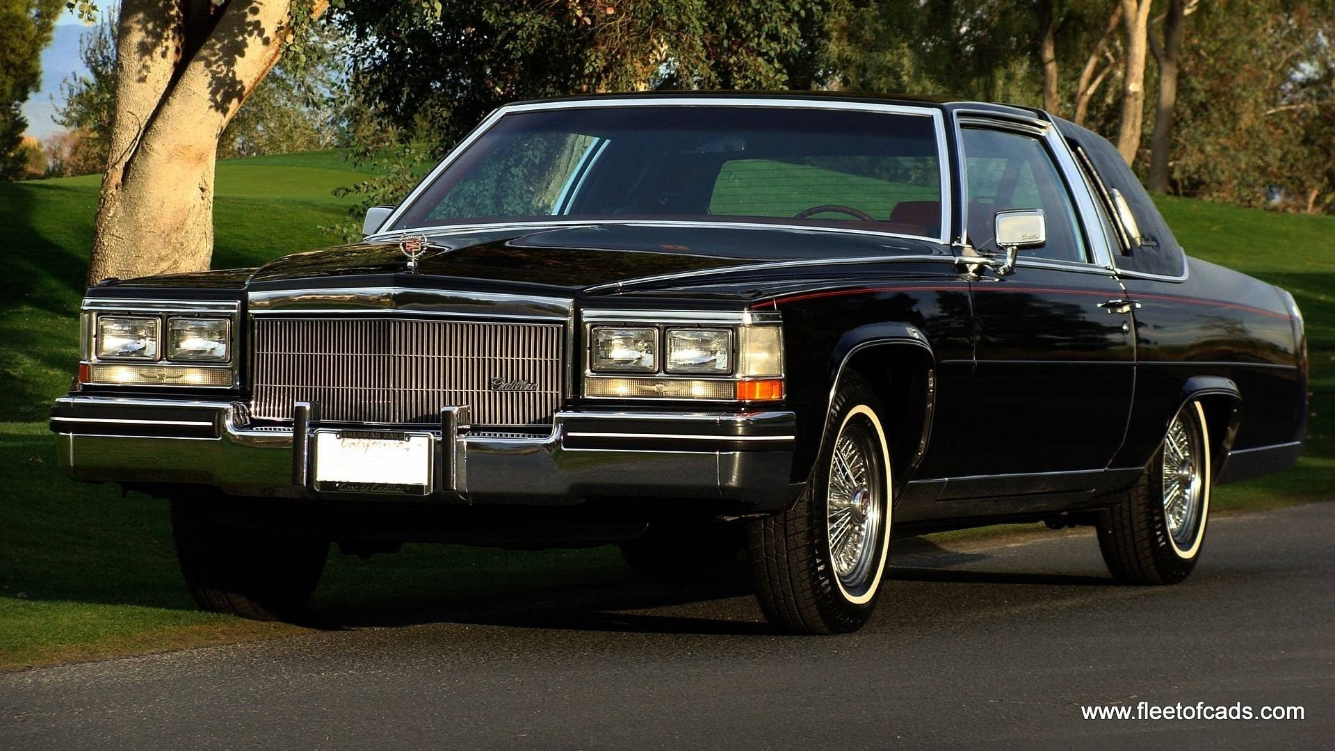 Find used 1984 Cadillac Fleetwood Brougham Coupe 39K miles ...