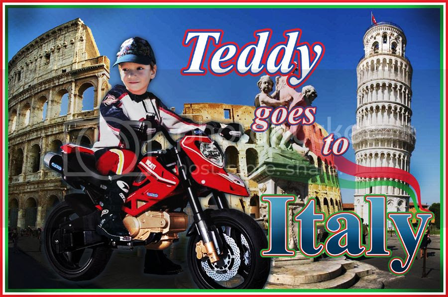 Teddy Goes To Italy