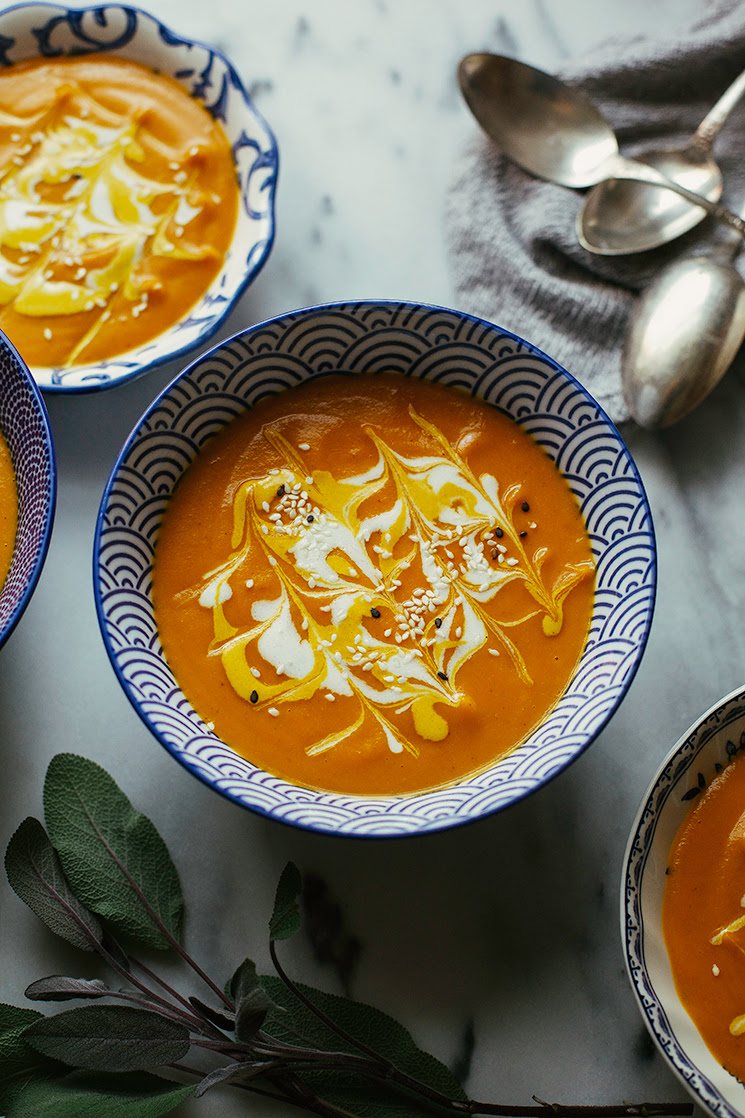 GINGER CARROT BISQUE