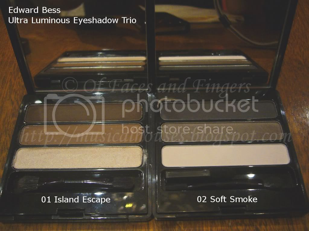 Edward Bess Ultra Luminous Eyeshadow Trio