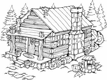 cottage coloring pages at getcolorings  free printable colorings pages to print and color