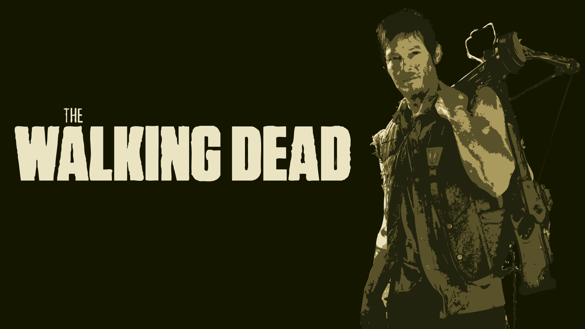 Daryl Of Walking Dead 1920x1080 Wallpapers