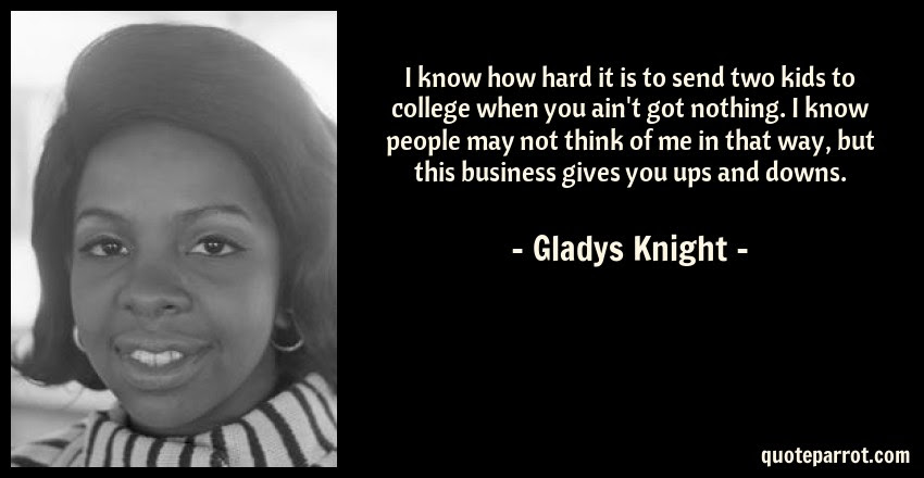 I Know How Hard It Is To Send Two Kids To College When By Gladys
