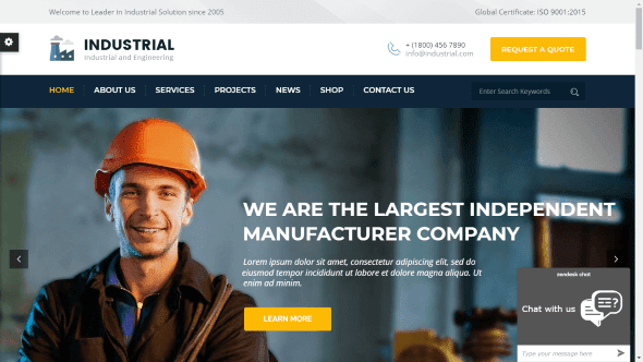 industrial-wp-theme
