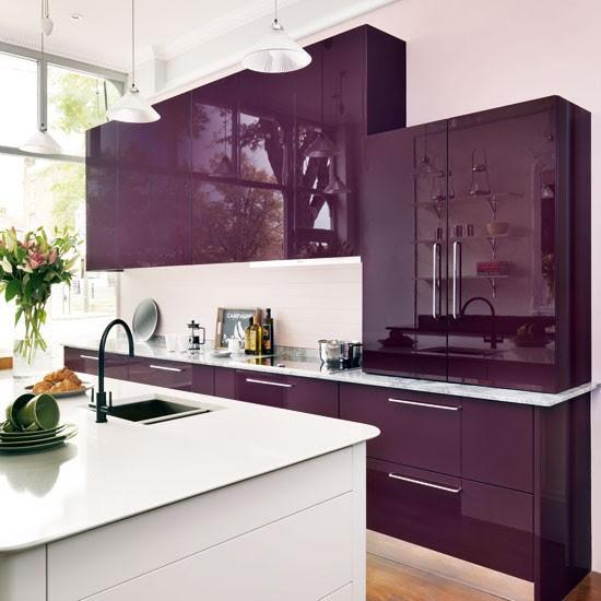 Mixed materials kitchen | Gloss kitchen ideas - 10 ideas ...
