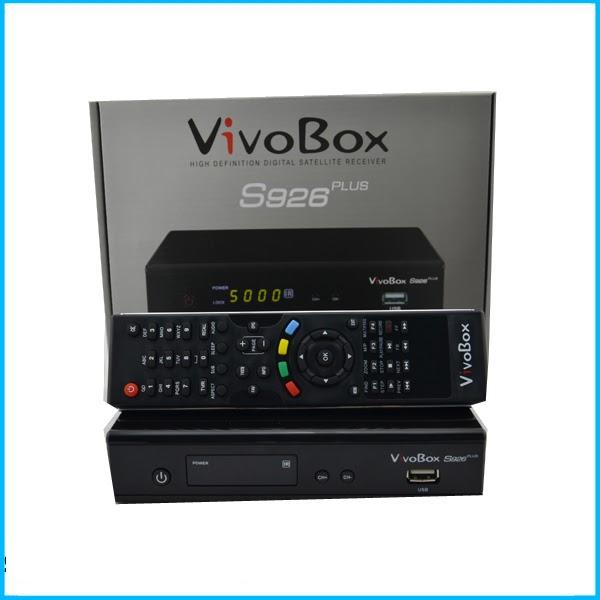 VIVOBOX S926 PLUS NOVA ATUALIZAÇÃO MODIFICADA - 04/06/2017