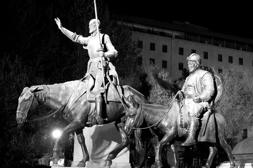 Madrid - Don Quixote by okbends