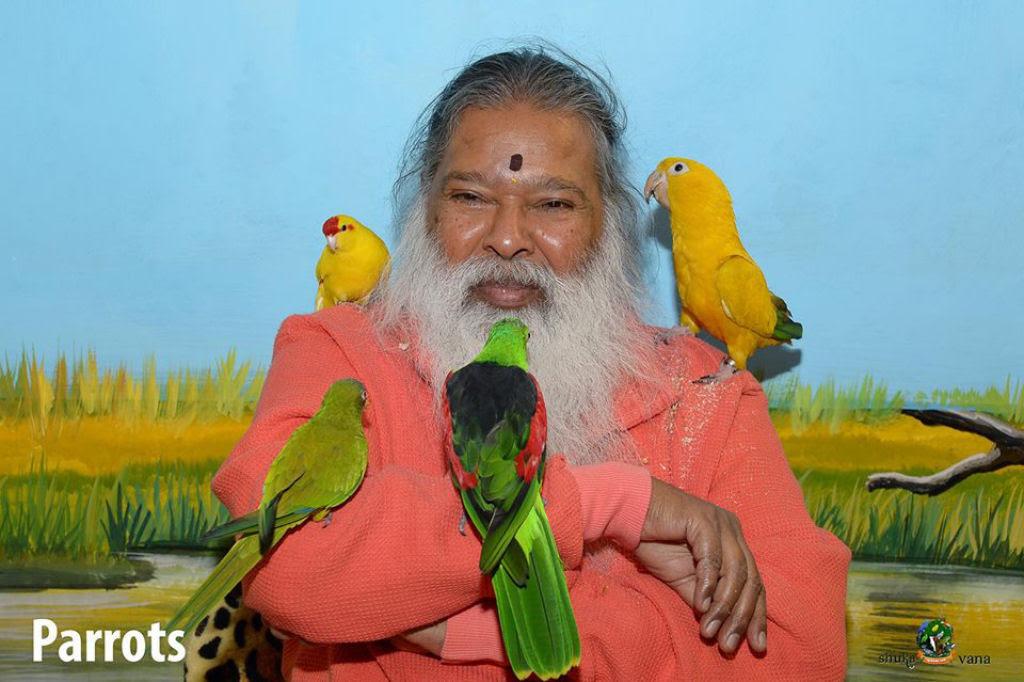 Senhor dos Pássaros - Indiano dedica sua vida para salvar pássaros ameaçados e abandonados