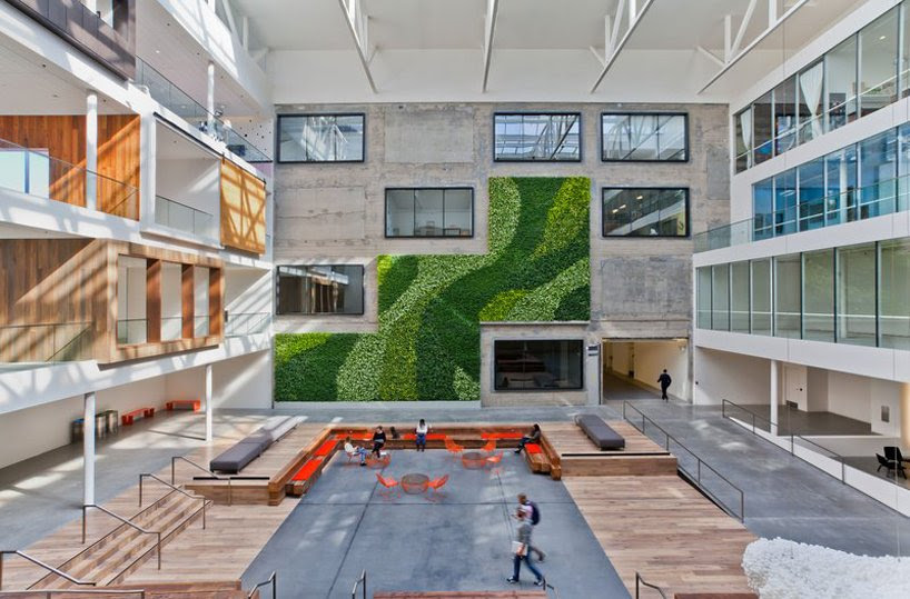 airbnb's 170,000 sq.ft headquarters in san francisco