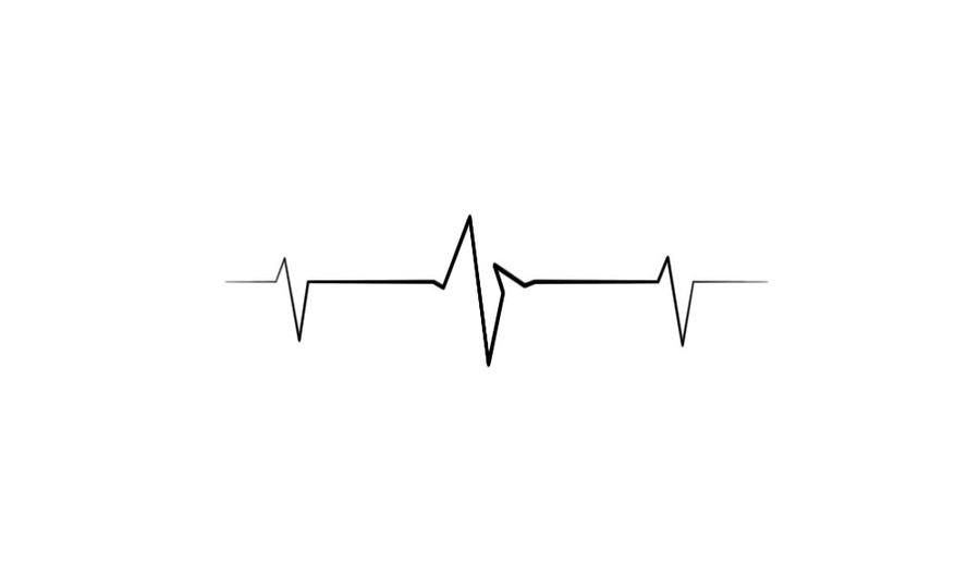 Black Wallpaper Hd Heart Beat Hd Blast