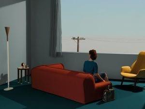 Giovanni Gastel, <i>Ritratti di living, Elle Decor</i> April 2013. Courtesy of TransAtlantic Art.