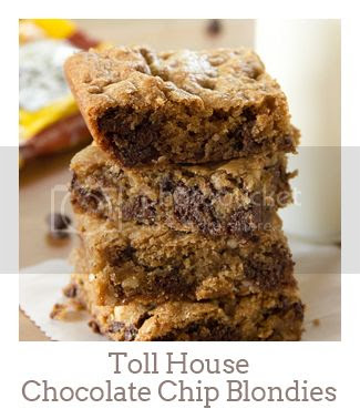 """""""Toll House Chocolate Chip Blondies"""""""