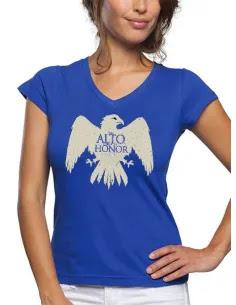 Camiseta juego de tronos Casa Arryn manga corta chica