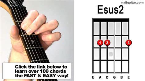 esus guitar chords guide youtube
