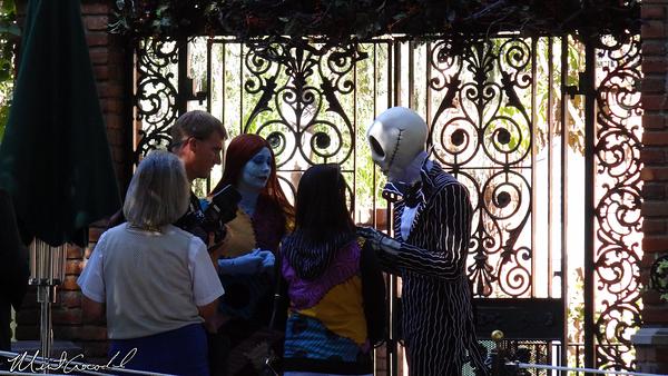 Disneyland Resort, Disneyland, Haunted Mansion Holiday, Jack, Sally