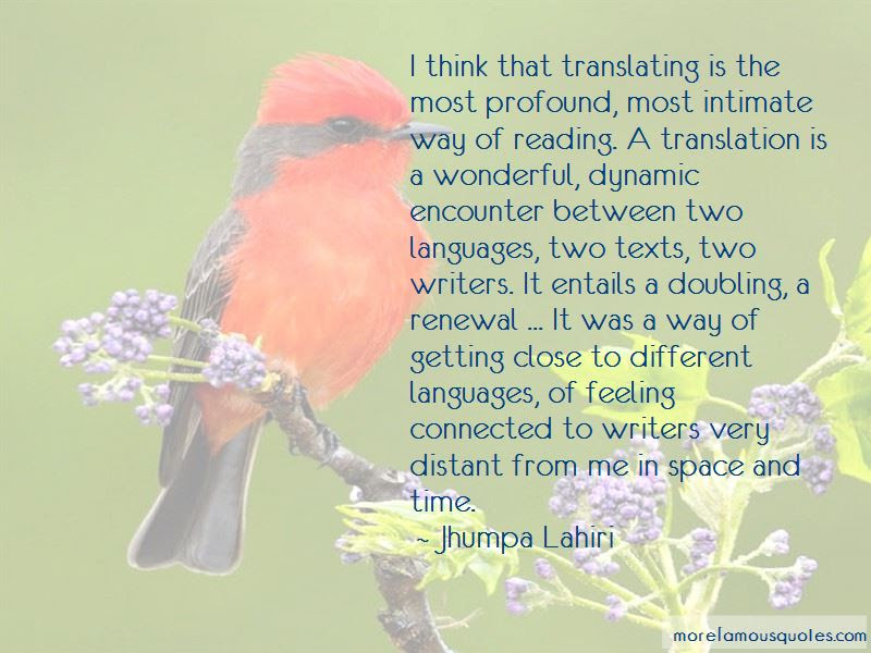 Quotes About Translating Languages Top 3 Translating Languages