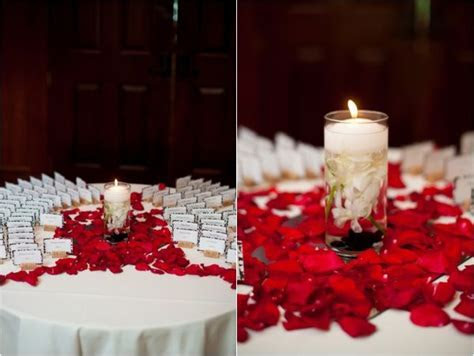 Red, White & Black Wedding Ideas   Red and black