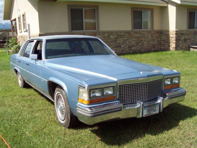 1981 Cadillac Sedan DeVille 4-Door Diesel 5.7L Drives ...