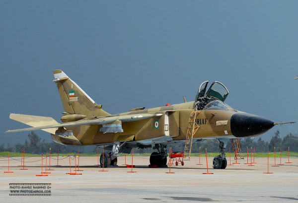 """Sukhoi Su-24 """"Fencer"""" la IRIAF. (Imagen: military.ir)"""