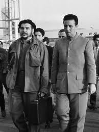Algerian leader Ben Bella and Cuban revolutionary Che Guevara during the early 1960s. Ben Bella recently died in Algeria at the age of 95. by Pan-African News Wire File Photos
